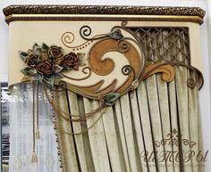 """Дорогие друзья и коллеги !!! Мы рады представить Вам наш новый фасад: ажурный шнур и цветы из бархата в сочетании с жемчужным блеском! Сочетание шнура и жесткого ламбрекена представлены в нашем новом каталоге № 4 """"АЖУРНЫЙ ШНУР С ЭЛЕМЕНТАМИ БАНДО"""""""