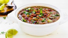 Slow-Cooker Drunken Beans Recipe - Tablespoon.com