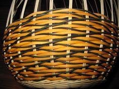 vlnková vazba_плетение с разными по толщине трубочками