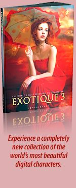 Ballistic Publishing - Exotique 3 - A reworking by the original artist