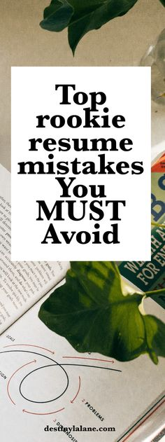 The 10 Most Common Resume Mistakes to Avoid Pinterest Career - resume mistakes