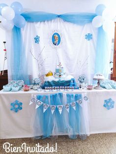 Frozen (Disney) Birthday Party Ideas | Photo 1 of 13 | Catch My Party