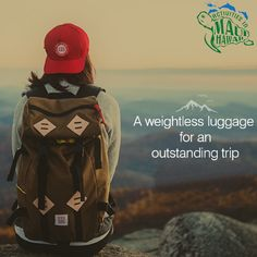 A weightless luggage for an outstanding trip.