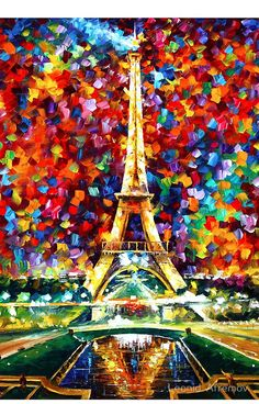 PARIS OF MY DREAMS ORIGINAL OIL PAINTING BY LEONID AFREMOV