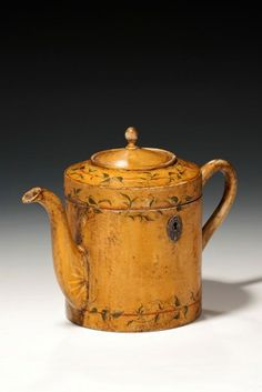 antique tea caddy