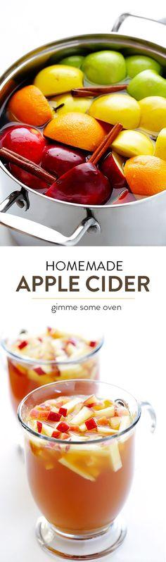 Homemade apple cider, Apple cider and Apples on Pinterest