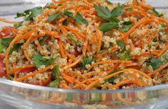Sunny quinoa salad or side dish