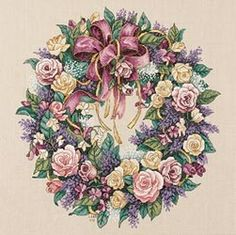 Wreath of Roses - In the project pile