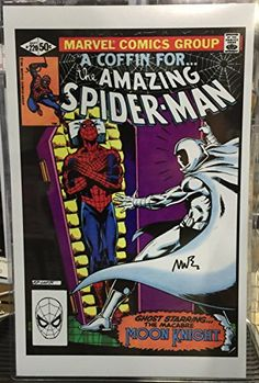 Writer Mike Barr Amazing Spider-man #220 Moon Knight