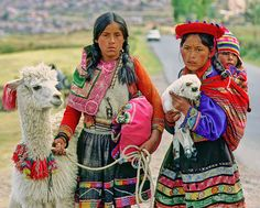 Oh, I hope I see at least one llama in Peru...