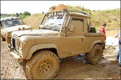 Avon Dassett 4x4 Off Road - Land Rover Defender 90 #landrover