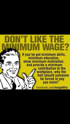 """Economics 101 - The Law of Supply and Demand! Ever read Smith's """"Wealth of Nations""""; the """"Invisible Hand""""? If you want to be paid more, you need to be able to bring more to the table."""