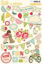 """I'm loving this new line from October Afternoon called """"Sidewalks....""""  cute, vintage styled scrapbooking products!"""