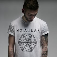 No Atlas shirt with Hexagon Logo.