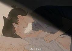 ran&shinchi Anime Couples Manga, Cute Anime Couples, Manga Anime, Manga Detective Conan, Detective Conan Shinichi, Magic Kaito, Manga Love, I Love Anime, Ran And Shinichi