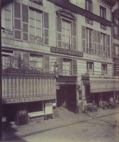 Hotel d'alegre Rue de Bondy 54 (10e) By Eugène Atget ,1909