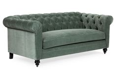 Chesterfield sofa samt  Fellow Sofa - Samt | Chesterfield Sofas | VON WILMOWSKY ...