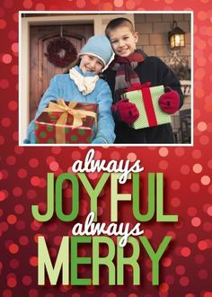 Always Lovely - Christmas Greeting Cards in Scarlet | Magnolia Press