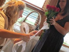 Off the Cuff and INDYpendent: Neat Wedding Ideas - Now Don't You get Any Ideas!