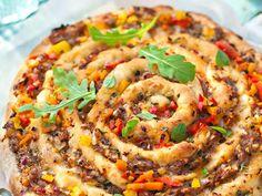 Verrine tomate mozzarella Tzatziki, Vegetable Pizza, Quiche, Four, Vegetables, Breakfast, Drizzle Cake, Cooking Recipes, Morning Coffee