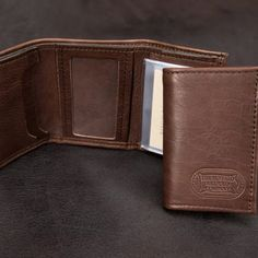 18ee03f3f2a4c2 Our mens money clip is durable and made in USA. The Three Fold Wallet by  the Buffalo Billfold Company is handcrafted from American Bison leather and