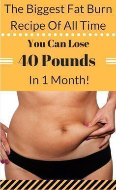 THE BIGGEST FAT BURN RECIPE OF ALL TIME YOU CAN LOSE 40 POUND IN 1 MONTH!?><987410