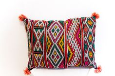 KILIM PILLOW this one is pretty perfect, wonder how much it costs over there though