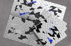 Newspaper poster I Grid and trash paper design 2A1V Creative Studio — Edition 2017