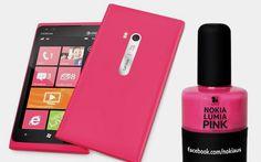 Nokia lança esmalte rosa para combinar com o Lumia Pink - Tech Girls - CAPRICHO