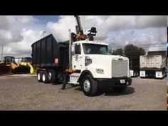 2012 Freightliner Coronado SD Grapple Truck in Action Dump Trucks For Sale, Heavy Duty Trucks, Used Trucks, Heavy Machinery, Sale Promotion, Heavy Equipment, Sd, Over The Years, Action