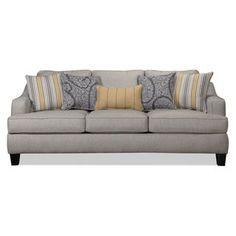 Wilmington Sofa - Platinum