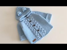 Hair Braided Hooded Child Cardigan Making - Baby And Women