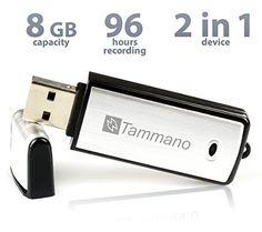 Digitales USB-Aufnahmegerät zum Spionieren von Gesprächen