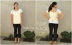 Dindin Does | Tulip Back Top
