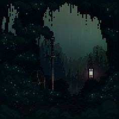 Nostalgic '80s Pixel GIFs Inspired By Video Games