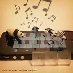 Monochrome music