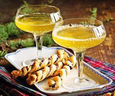 Clementinen-Moscato #weihnachten #rezept #apero #drink #migros #silvester