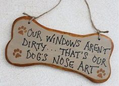 Dog's nose art