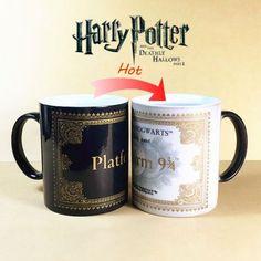 Harry Potter Mug Color Change Coffee Mug Mischief Managed Magic