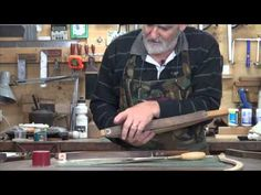 Bow-Sander, for sanding Cabriole Legs, Curves and Round Things! - YouTube