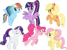 the sisters of the mane six left top 1 rani 2 dawn 3 applebloom 4 gem 4 partytime 5 whisper