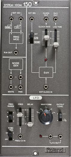 Roland System 100M ~ LFO Modul