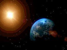 Earth Rotating Around Sun Gif