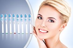 Oral B Compatible Dual Clean Toothbrush Heads