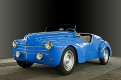 1950 Renault Barchetta Chassis no 1464508 Engine no 1498114 Retro Cars, Vintage Cars, Antique Cars, Us Cars, Sport Cars, Classic Sports Cars, Classic Cars, Sport En France, Volkswagen