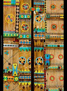 Colorful Saudi Arabian door