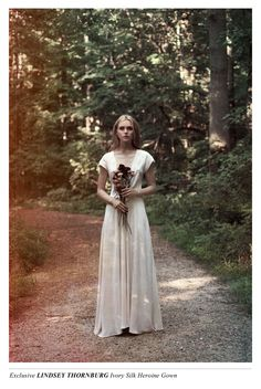 Exclusive Lindsey Thornburg Silk Heroine Gown