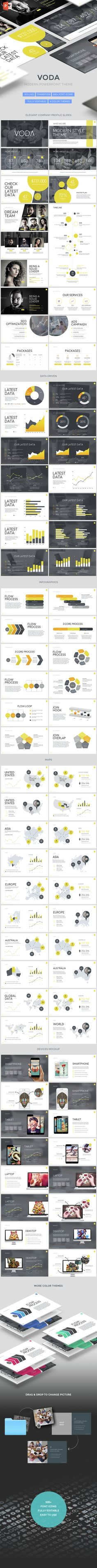 Voda - Creative Powerpoint Template (PowerPoint Templates)