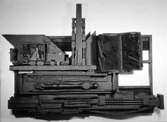 'Mirror Shadow III' by Louise Nevelson