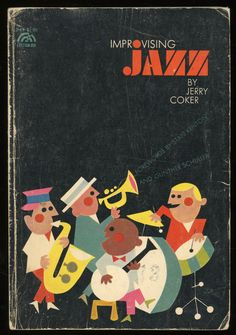 book cover for Improvising Jazz by Jerry Coker